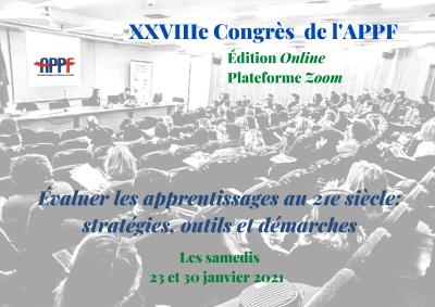 XXVIIe Congrès National de l'APPF